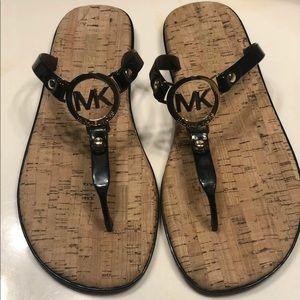 Michael Kors charm jelly PVC women's sandals